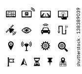 navigation icon | Shutterstock .eps vector #138389039