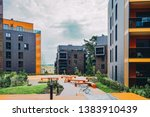 new apartment residential... | Shutterstock . vector #1383910439