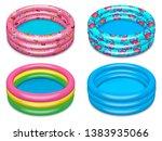 seth inflatable children s... | Shutterstock .eps vector #1383935066