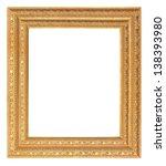antique golden picture frame... | Shutterstock . vector #138393980