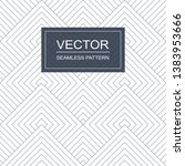 vector seamless geometric... | Shutterstock .eps vector #1383953666