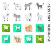 vector illustration of breeding ... | Shutterstock .eps vector #1383953750