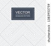 vector seamless geometric... | Shutterstock .eps vector #1383953759