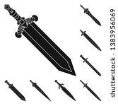 vector design of sharp and... | Shutterstock .eps vector #1383956069