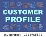 customer profile word concepts...