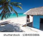 Typical Caribbean House Near...