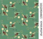 halftone color texture... | Shutterstock . vector #1384060520