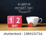 happy mothers day 12 may... | Shutterstock . vector #1384131716