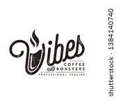 Vibes Coffee Roosters Logo...