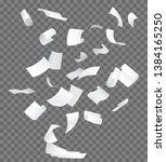 realistic 3d detailed white... | Shutterstock .eps vector #1384165250