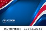 vector of usa color backgrounds ... | Shutterstock .eps vector #1384210166