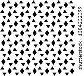 seamless vector. rhombuses ...   Shutterstock .eps vector #1384232399