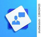 vector illustration of icons on ... | Shutterstock .eps vector #138428420