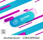 add to shopping cart line icon. ...   Shutterstock .eps vector #1384289060