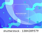 abstract bright background with ... | Shutterstock .eps vector #1384289579