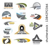 roads construction company and...   Shutterstock .eps vector #1384292366