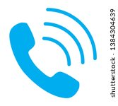 phone call icon vector isolated ...