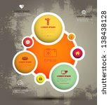vector circle template for... | Shutterstock .eps vector #138438128