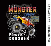 Monster Car Club Vector Car...