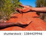 Small photo of Aboriginal Australia, a landscape build on traditional values passed from many generations. The oldest live culture in the world. Red soil, black skin. The Australian outback