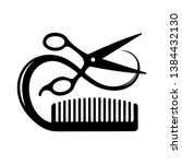 Hairdressing Conceptual Icon Of ...