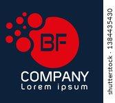 bf company linked letter logo...