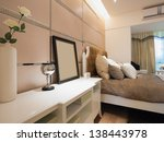 modern bedroom | Shutterstock . vector #138443978