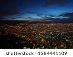 colombia  bogota you can see... | Shutterstock . vector #1384441109