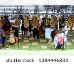 a bird singing contest event in ...   Shutterstock . vector #1384446833