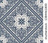 seamless pattern based on... | Shutterstock .eps vector #1384461800