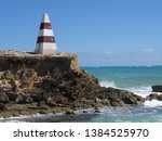 cape dombey obelisk in robe ...   Shutterstock . vector #1384525970