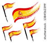 set of national symbols  ... | Shutterstock .eps vector #1384562399