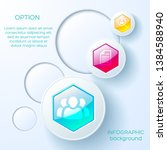 abstract infographic concept... | Shutterstock .eps vector #1384588940