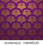 scale ornamental pattern | Shutterstock .eps vector #138460133