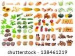 collection of food | Shutterstock . vector #138461219