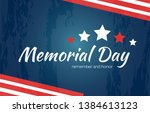 Memorial Day Holiday Card With...