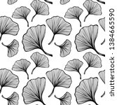 beautiful seamless pattern with ... | Shutterstock .eps vector #1384665590