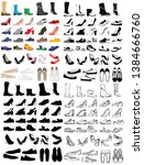 set  collection of men's and... | Shutterstock .eps vector #1384666760