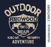 outdoor adventure   vector... | Shutterstock .eps vector #138474389
