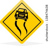 accident,ahead,art,attention,bad,banner,beware,button,car,careful,carefully,caution,clip,crash,curve