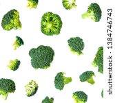 Broccoli Pattern. Summer ...
