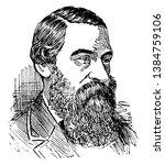 sir samuel white baker  1821...   Shutterstock .eps vector #1384759106