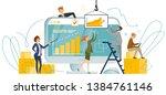 vector illustration analytical...   Shutterstock .eps vector #1384761146