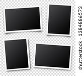 photo card frame film set.... | Shutterstock .eps vector #1384886573