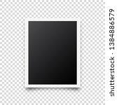 photo card frame film. retro... | Shutterstock .eps vector #1384886579