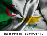 waving flag of cyprus and... | Shutterstock . vector #1384905446