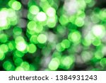 abstract green and white bokeh... | Shutterstock . vector #1384931243