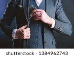 flat metal bottle for alcohol.... | Shutterstock . vector #1384962743
