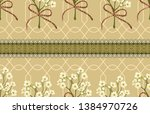 vintage beautiful and trendy... | Shutterstock . vector #1384970726