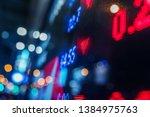 financial stock exchange market ...   Shutterstock . vector #1384975763
